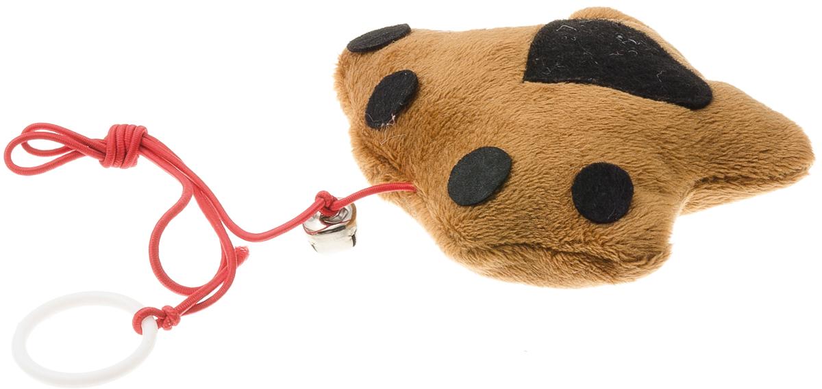 Игрушка для кошек V.I.Pet Лапка, с мятойC-109Плюшевая игрушка с бубенчиком для кошек V.I.Pet Лапка наполнена кошачьей мятой - растением, запах которого привлекает кошку, делает ее более игривой. С помощью этого средства кошка легче перенесет путешествие на автомобиле, посещение ветеринарного врача или просто переезд.