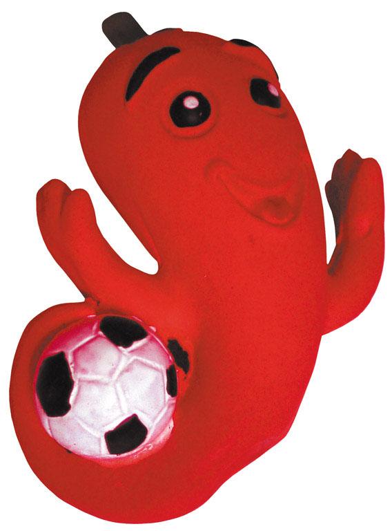 Игрушка латекс Футбольный перец 12,5 см L-130L-130