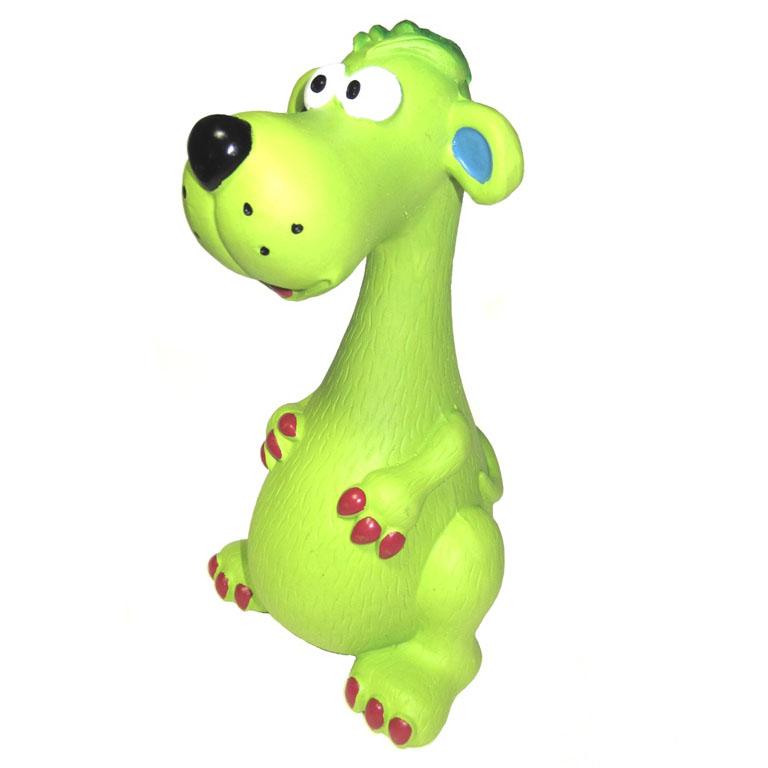 Игрушка для собак V.I.Pet СобакаL-140Прочная игрушка V.I.Pet Собака изготовлена из натурального латекса с использованием только безопасных нетоксичных красителей. Великолепно подходит для игры и массажа десен вашей собаки. Игрушка не позволит скучать вашему питомцу ни дома, ни на улице.