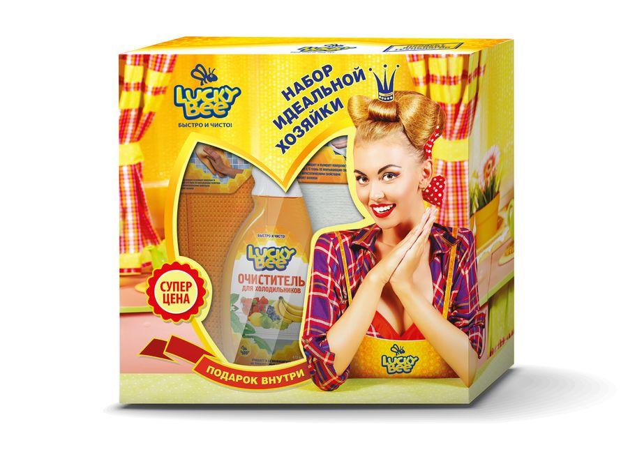 Набор чистящих средств для кухни Lucky Bee, 4 предметаLB7500+LB7501+LB7207+LB7307Набор чистящих средств для кухни Lucky Bee включает очиститель стеклокерамических поверхностей, очиститель для духовок и микроволновых печей, салфетку из микрофибры и салфетки для рук. Очиститель стеклокерамических поверхностей гарантированно растворяет и удаляет бытовые загрязнения, пригоревшие масложировые отложения со стеклокерамических поверхностей. Очищает быстро, безопасно и без особых усилий. Придает сияющую чистоту. Подходит для очистки эмалированных, нержавеющих и других элементов кухонного оборудования. Выпускается в форме спрея. Объем: 473 мл. Состав: деминерализованная вода, менее 5%: ПАВ, пирофосфат калия, комплексообразователь, ингибитор коррозии, эмульгатор, эфир пропиленгликоля, консервант, отдушка, краситель. Очиститель для духовок и микроволновых печей эффективно растворяет и удаляет бытовые загрязнения, пригоревшие масложировые отложения и остатки пищи с поверхностей микроволновых печей, духовых шкафов, кухонного и...