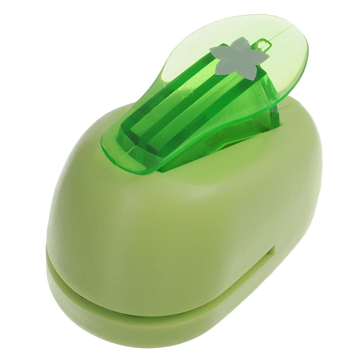 Дырокол фигурный Hobbyboom Цветок, №97, цвет: зеленый, 1 смCD-99XS-097 зеленыйФигурный дырокол Hobbyboom Цветок, выполненный из металла и пластика, используется в скрапбукинге, для украшения открыток, карточек, коробочек и так далее. Рисунок прорези указан на ручке дырокола. Предназначен для прорезания фигурных отверстий в бумаге. Вырезанный элемент также можно использовать для украшения. Для работ используйте бумагу плотностью 80-200 г/м2. Размер дырокола: 5 см х 3 см х 4 см. Размер готовой фигурки: 1 см.