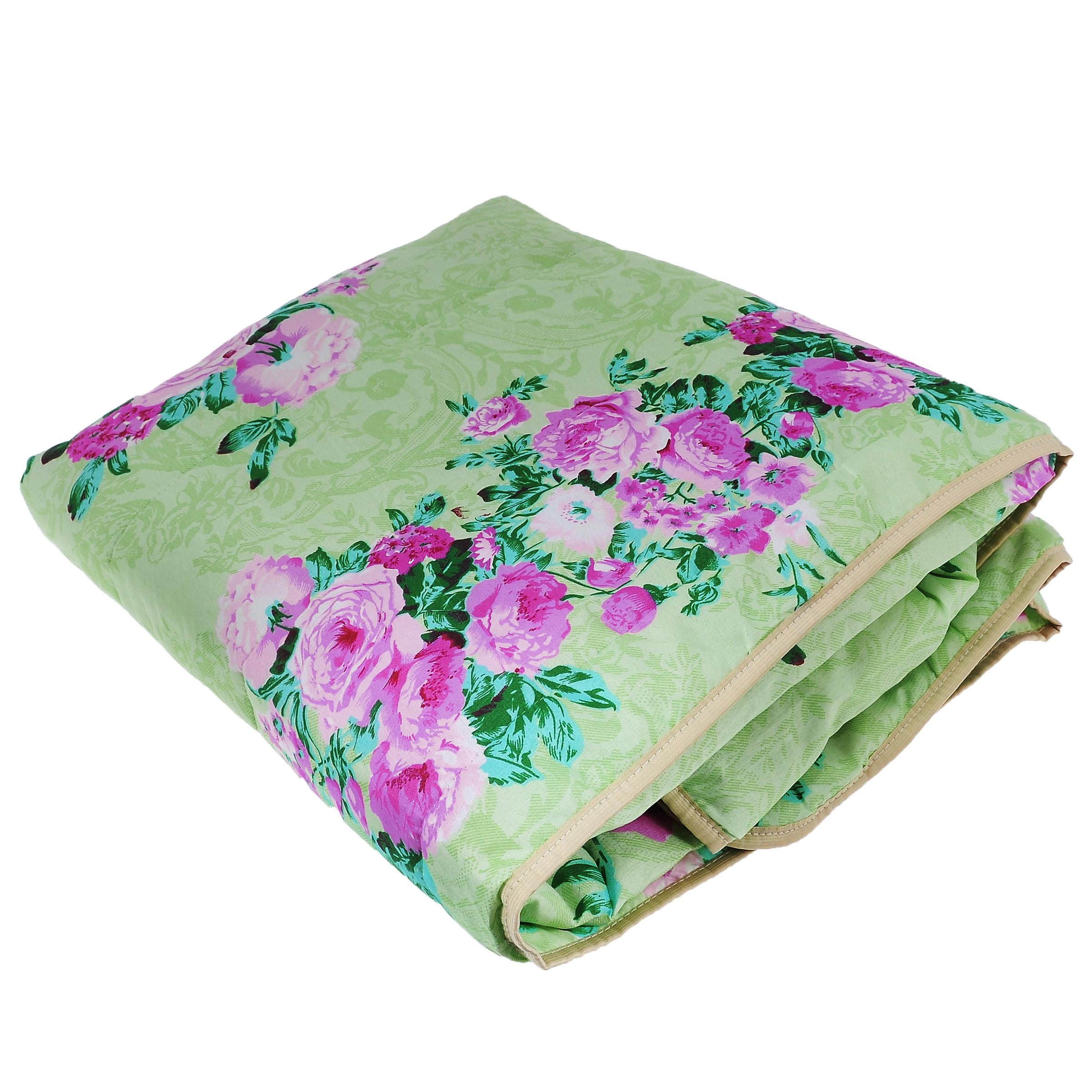 Одеяло летнее OL-Tex Miotex, наполнитель: полиэфирное волокно Holfiteks, цвет: салатовый, розовый, 172 см х 205 смМХПЭ-18-1_салатовый, пионыЛегкое летнее одеяло OL-Tex Miotex создаст комфорт и уют во время сна. Чехол выполнен из полиэстера и оформлен красочным рисунком. Внутри - современный наполнитель из полиэфирного высокосиликонизированного волокна Holfiteks, упругий и качественный. Прекрасно держит тепло. Одеяло с наполнителем Holfiteks легкое и комфортное. Даже после многократных стирок не теряет свою форму, наполнитель не сбивается, так как одеяло простегано и окантовано. Не вызывает аллергии. Holfiteks - это возможность легко ухаживать за своими постельными принадлежностями. Можно стирать в машинке, изделия быстро и полностью высыхают - это обеспечивает гигиену спального места при невысокой цене на продукцию. Плотность: 100 г/м2.