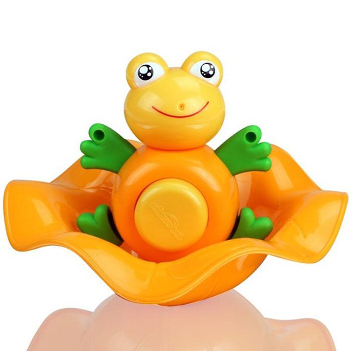 Игрушка для ванной Малышарики Лягушонок Квак, цвет: оранжевыйMSH0304-002Превратите купание в увлекательное приключение с забавной игрушкой Лягушонок Квак. Игрушка развивает мелкую моторику и логическое мышление малыша, а так же воображение и творческие способности. Выполнена в ярком дизайне и из безопасных материалов. Игрушка идеальна для развития координации движений малыша, зрительных способностей и воображения.