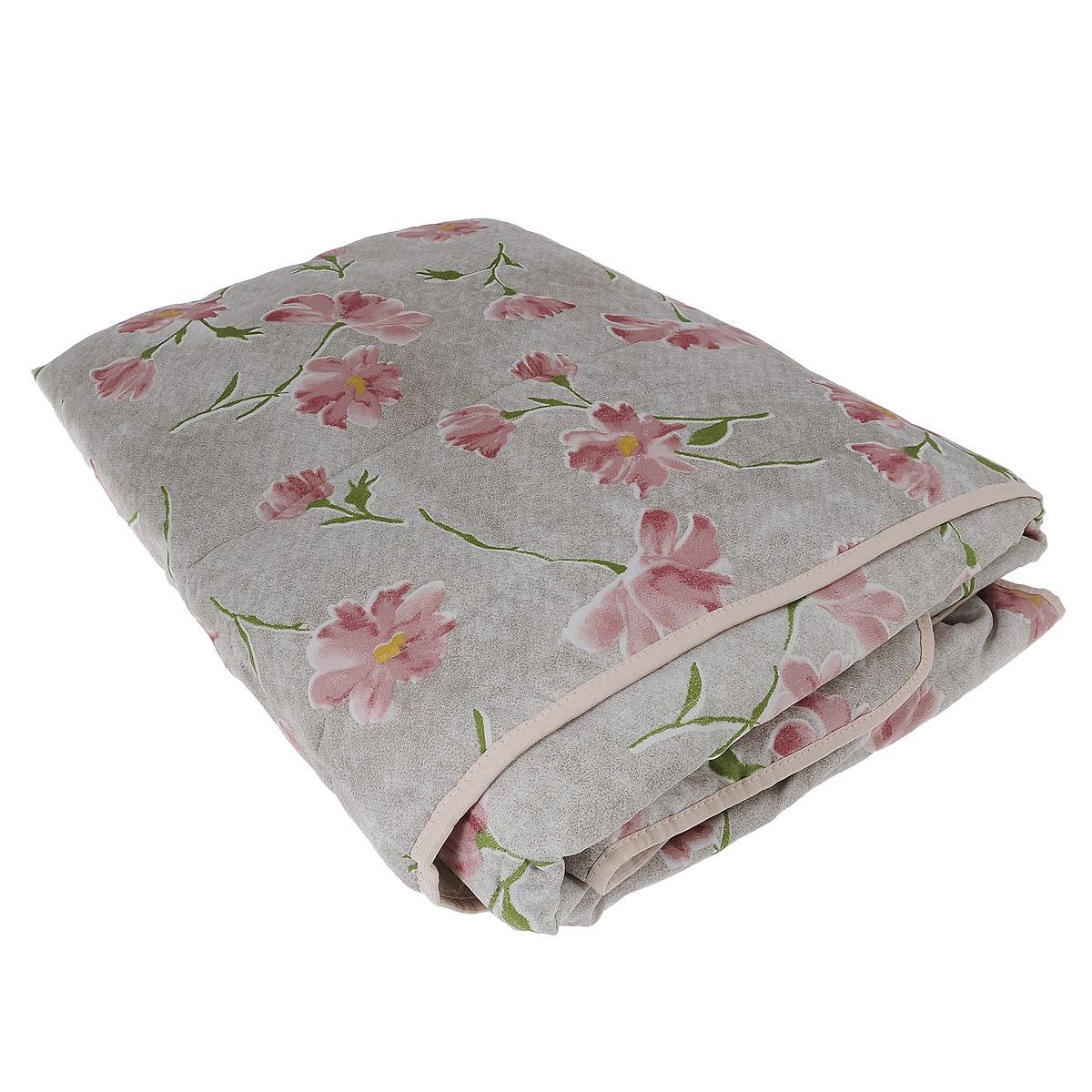 Одеяло летнее OL-Tex Miotex, наполнитель: полиэфирное волокно Holfiteks, цвет: серый, розовый, 172 х 205 смМХПЭ-18-1_серый, макиЛегкое летнее одеяло OL-Tex Miotex создаст комфорт и уют во время сна. Чехол выполнен из полиэстера и оформлен красочным рисунком. Внутри - современный наполнитель из полиэфирного высокосиликонизированного волокна Holfiteks, упругий и качественный. Прекрасно держит тепло. Одеяло с наполнителем Holfiteks легкое и комфортное. Даже после многократных стирок не теряет свою форму, наполнитель не сбивается, так как одеяло простегано и окантовано. Не вызывает аллергии. Holfiteks - это возможность легко ухаживать за своими постельными принадлежностями. Можно стирать в машинке, изделия быстро и полностью высыхают - это обеспечивает гигиену спального места при невысокой цене на продукцию. Плотность: 100 г/м2.
