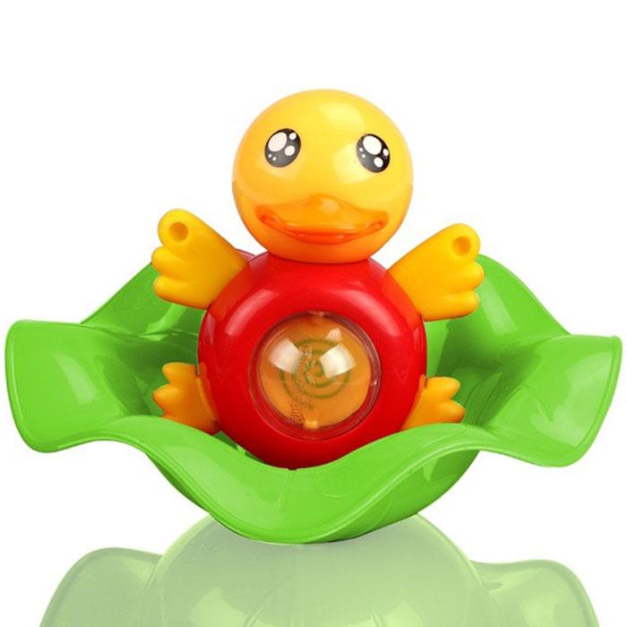 Малышарики Игрушка для ванной Утенок Кряк цвет зеленыйMSH0304-004Обаятельный утенок по имени Кряк превосходно держится на поверхности воды и станет прекрасным развлечением для вашего малыша во время купания. На животике у Кряка имеется кнопочка, при нажатии на которую утенок начинает забавно брызгать водичкой. Теперь купание будет доставлять вашему ребенку настоящее удовольствие! Игрушка развивает мелкую моторику и логическое мышление малыша, а так же воображение и творческие способности. Выполнена игрушка из прочного, экологически чистого и высококачественного материала, абсолютно безопасного для детской игры.