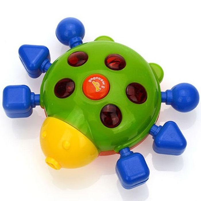 Малышарики развивающая игрушка Божья коровка (свет, звук.эффекты)MSH0303-004Забавная игрушка поможет малышу научиться фокусировать внимание. Так же она развивает мелкую моторику и слуховое восприятие. Игра станет ещё интересней благодаря световым эффектам. Игрушка выполнена в ярком дизайне и из безопасных материалов.