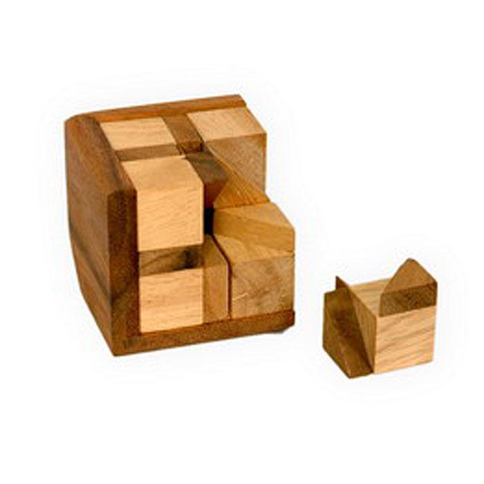 Dilemma Головоломка Дьявольский кубIQ.198Головоломка Dilemma Дьявольский куб, выполненная из дерева, станет отличным подарком всем любителям головоломок! Головоломка предназначена для одного игрока. Состоит из 8 деревянных элементов. Попробуйте собрать их в форме куба. Сложно? Можете воспользоваться предложенной подсказкой в инструкции. Головоломка Dilemma Дьявольский куб стимулирует логику, пространственное мышление и мелкую моторику рук.
