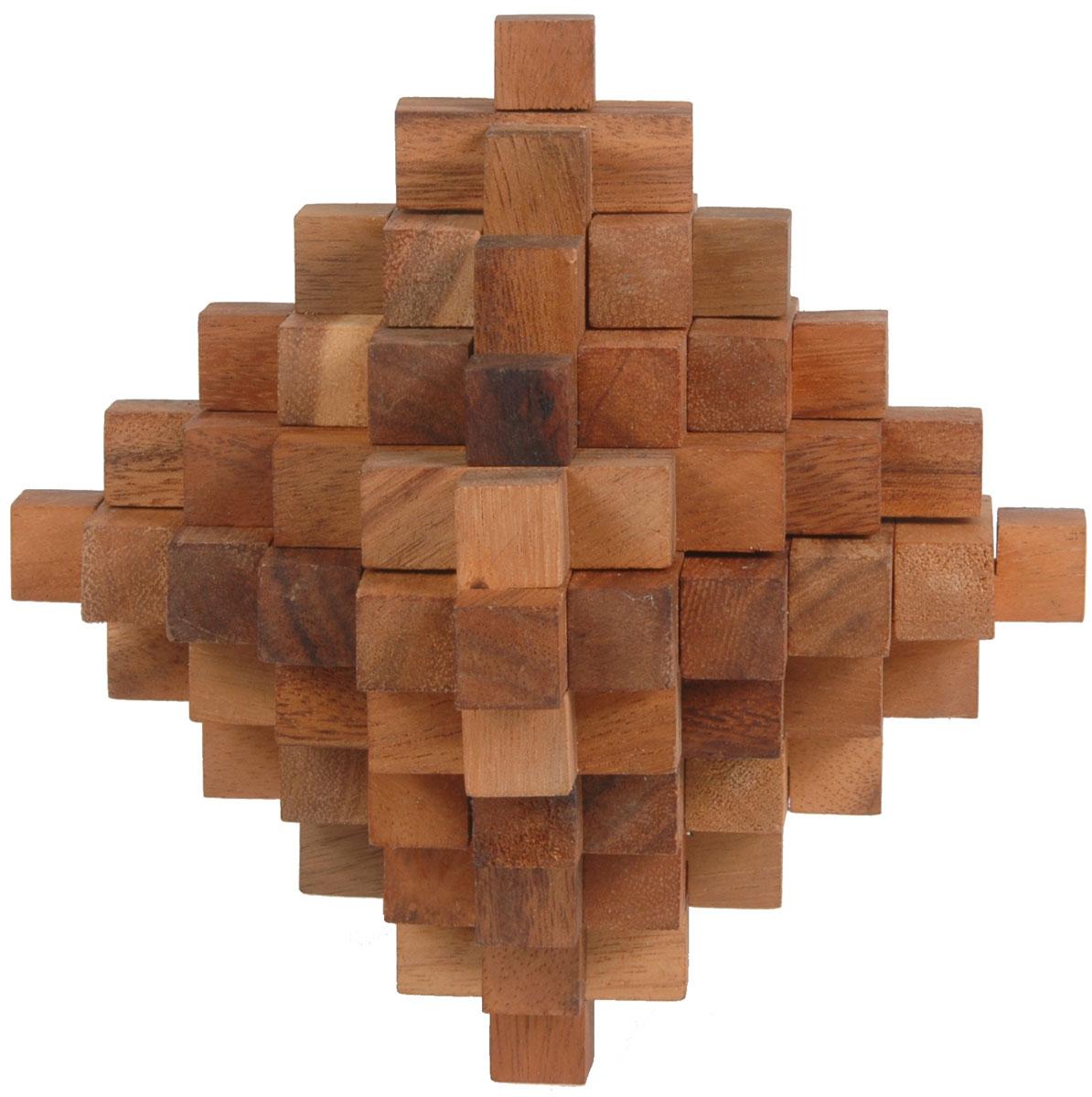Dilemma Головоломка Большой метеоритIQ140Головоломка Dilemma Большой метеорит, выполненная из дерева, станет отличным подарком всем любителям головоломок! Куб состоит из 51 деревянной детали. Некоторые детали одинаковой формы, так что всего здесь 11 разных видов деталей. Попробуйте разобрать детали (это нетрудно), а затем собрать их обратно (это нелегко). Слишком сложно? Воспользуйтесь подсказкой из предложенного решения. Игра рассчитана на одного игрока. Головоломка Dilemma Большой метеорит стимулирует логику, пространственное мышление и мелкую моторику рук.