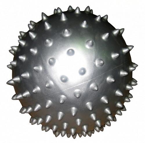 Мяч массажный Alonsa, цвет: серебристый, 20 смSMB-06-01Мяч Alonsa оказывает массажный эффект на спину, ягодицы, бедра. Способствует восстановлению мышечных функций и улучшению здоровья в целом. Выполнен из прочного ПВХ. УВАЖАЕМЫЕ КЛИЕНТЫ! Товар поставляется в сдутом виде, насос приобретается отдельно.