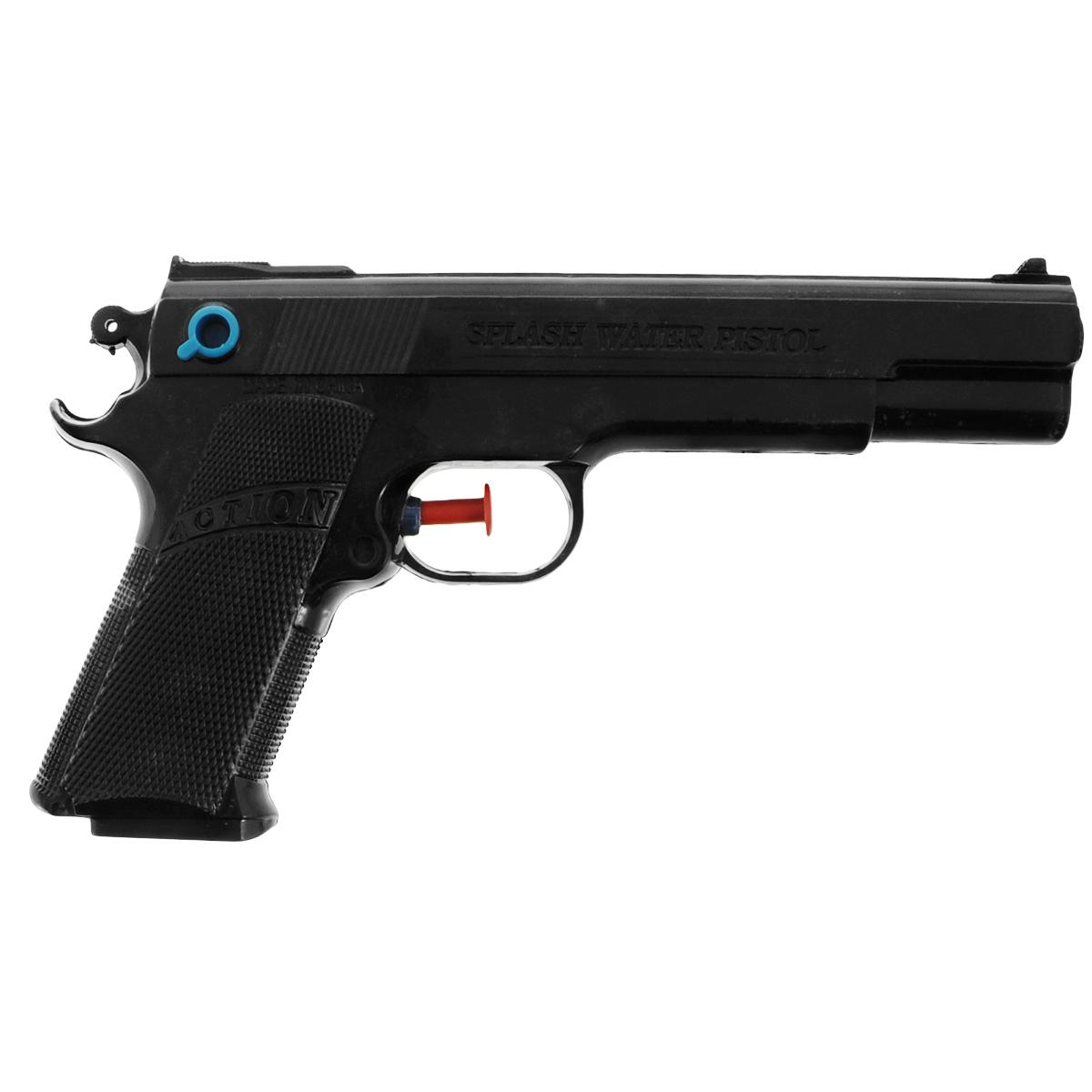 Водный пистолет Bebelot Суперагент. BEB1106-006BEB1106-006Водный пистолет Bebelot Суперагент станет отличным развлечением для детей в жаркую летнюю погоду. Пистолет выполнен из прочного безопасного пластика ярких цветов и невероятно прост в использовании. Заполните резервуар водой и начинайте стрелять! При нажатии на курок пистолет выстреливает струей воды. Резервуар для воды надежно закрывается пластиковым клапаном. Такая игрушка не только порадует малыша, но и поможет ему совершенствовать мелкую и крупную моторику, а также координацию движений. С водным пистолетом ваш малыш сможет устроить настоящее водное сражение!