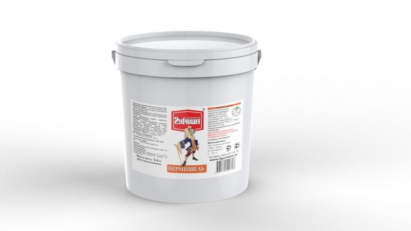 Вермишель моментального приготовления для собак Четвероногий гурман Вермишель, ведро 0,4 кг102104005Вермишель моментального приготовления для собак. Продукт, богатый углеводами. Вермишель формируется из хлебопекарной муки с низким содержанием клейковины, затем подвергается термической обработке. Для приготовления хлопья необходимо залить горячей (не кипящей) водой и подождать, пока блюдо остынет до комнатной температуры. Полезные свойства вермишели: В состав входит пальмовое масло. Его получают из плодов гвинейской масличной пальмы, — это единственное твёрдое растительное масло, близкое по составу к животному жиру. Богатейший источник витамина E, важного для профилактики заболеваний глаз, нервной системы, мышц и кожи. Благодаря высокой калорийности вермишель используется для обеспечения набора веса животным. Состав: мука пшеничная, масло пальмовое, вода, соль, гуаровая камедь. Вес: 400 г.