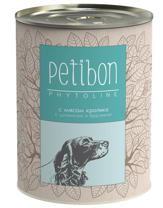 Консервы для собак Petibon Phytoline с мясом кролика, 340 г313109001Petibon Phytoline — влажные мясные корма для собак с добавлением фруктов, ягод, овощей, злаков и целебных трав. В составе каждого вида содержится в среднем 15 фитокомпонентов, их общая доля не превышает 3%. Рецептура Phytoline уникальна, что подтверждено патентом. За счёт использования в составе растительных ингредиентов корма имеют профилактическую функциональную направленность. Состав: субпродукты говяжьи (рубец, сердце, печень, губы, почки), говядина, мясо кролика, масло растительное, плазма крови, рис, пшеничные отруби, репа, шпинат, морковь, рыбий жир, бурые водоросли, брусника, черника, семя льна, бессмертник, зелень петрушки, кориандр, юкка шидигера, пивные дрожжи, соль, желирующая добавка, вода. Вес: 340 г.