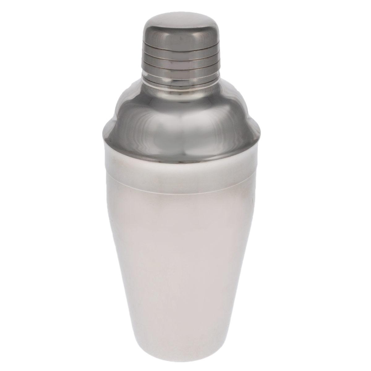 Шейкер Tescoma Presto, 500 мл. 420712420712Шейкер Tescoma Presto, изготовленный из нержавеющей стали с зеркальной полировкой, идеален для приготовления смешанных напитков, пригоден для домашнего и профессионального использования. Шейкер снабжен практичным ситом для процеживания напитков. Можно мыть в посудомоечной машине. Диаметр шейкера (по верхнему краю): 3,8 см. Высота шейкера: 20 см.