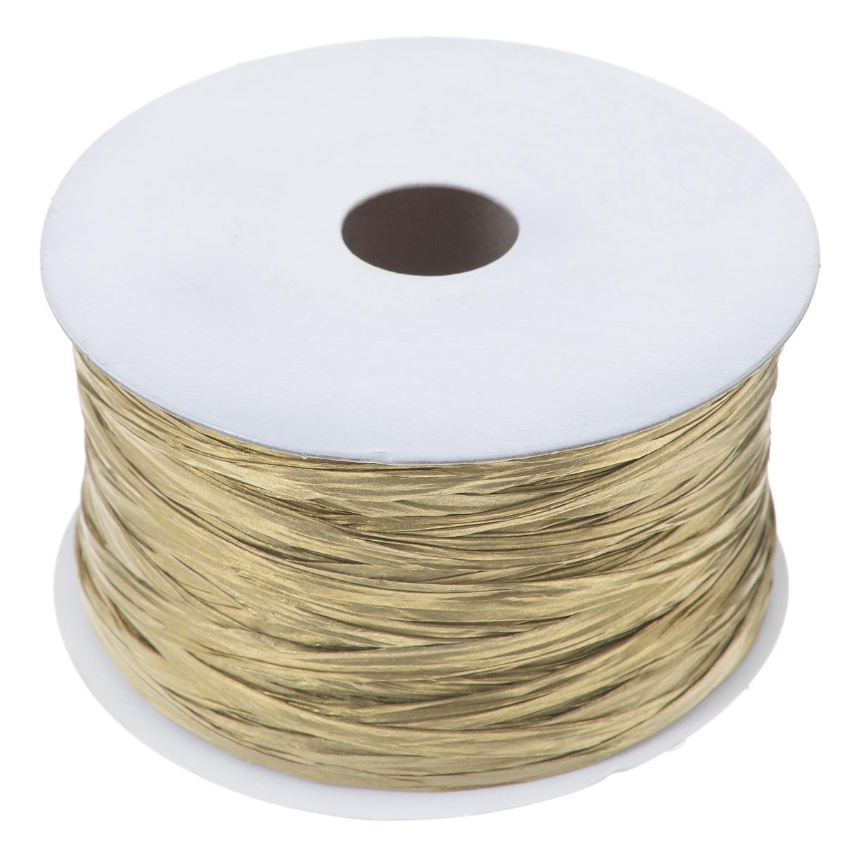 """Шнур бумажный """"Brunnen"""", цвет: золотой, 20 мм х 100 м"""