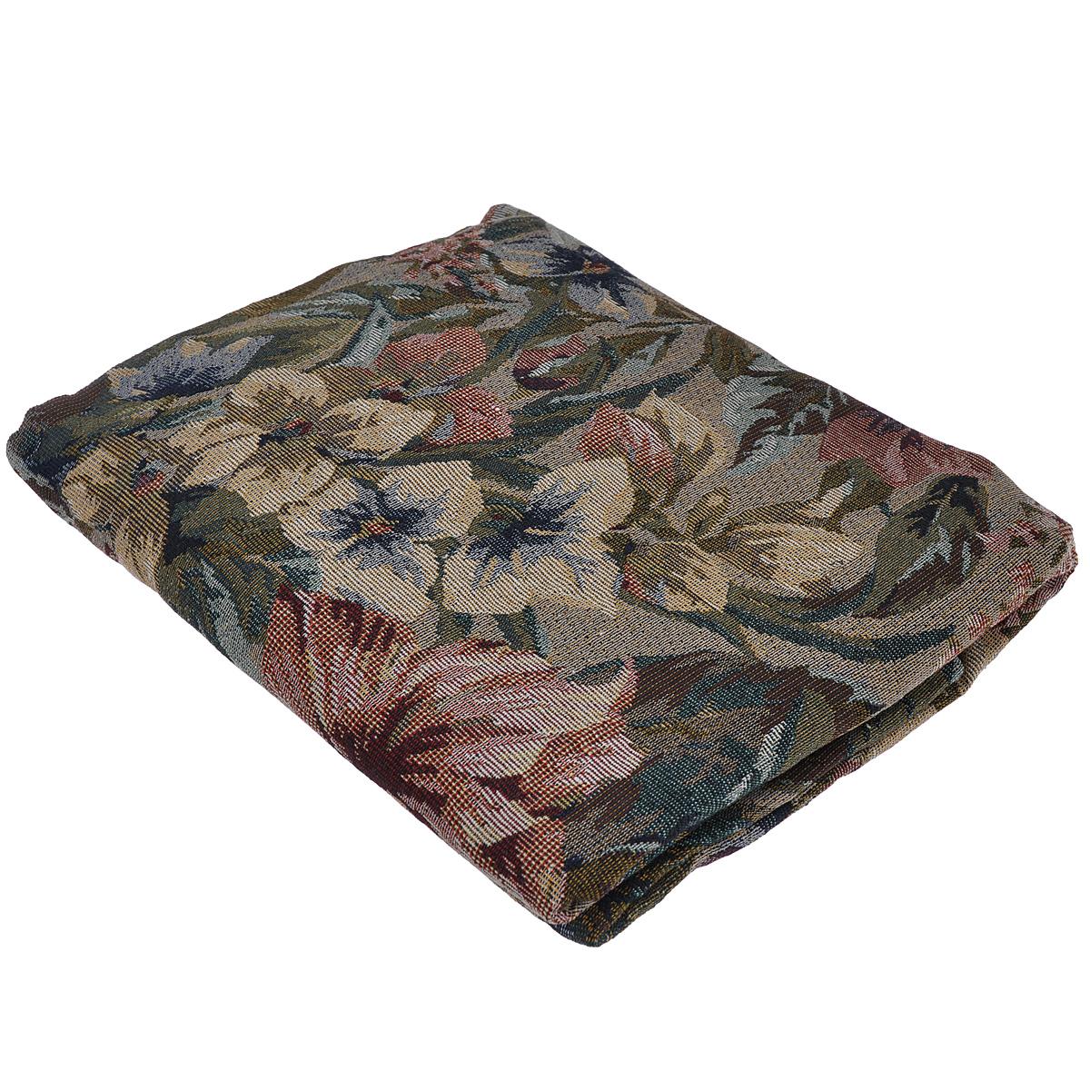 Покрывало гобеленовое Comfort Wendy, 150 см х 200 см73337Гобеленовое покрывало Comfort Wendy, изготовлено из 50% хлопка и 50% полиэстера, благодаря чему достигается приятная, дышащая фактура поверхности. Гобеленовые покрывала уникальны, так как они практичны и универсальны в использовании. Легкое, плотное, практичное покрывало, отличный спутник в дороге, дома и на даче. Изделие долговечно, надежно и легко стирается.