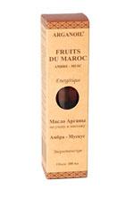Дом Арганы Fruits du Maroc Масло арганы для ухода и массажа Амбра - Мускус, 100 мл706292Экстракт мускуса создает атмосферу сексуальности и чувственности, снижает чувство обеспокоенности и меланхолии. Экстракт амбра активизирует кровообращение, борется с усталостью, депрессией и стрессом, придает сил, успокаивает, способствует балансу. Благодаря использованию этого масла после душа или во время массажа Вы испытаете уникальные ощущения, а на коже останется тонкий аромат амбра и мускуса, чувственный и тонизирующий.