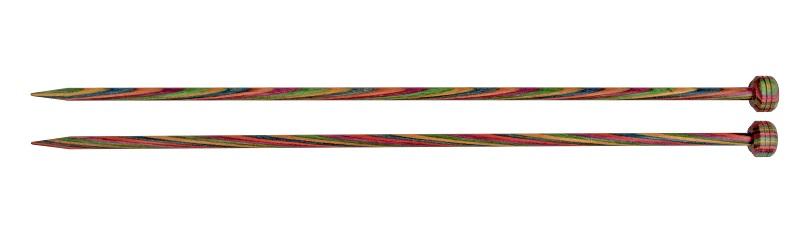 Спицы KnitPro Symfonie, деревянные, прямые, диаметр 3 мм, длина 35 см, 2 шт20229Спицы для вязания KnitPro Symfonie изготовлены из ценных пород дерева. Идеальная форма способствует созданию непревзойденных шедевров из пряжи. Зауженные кончики спиц, гладкое скольжение по поверхности гарантируют легкость вязания, без всякой усталости. Полированная деревянная поверхность отлично взаимодействует с каждым типом пряжи, не замедляя вяжущий ритм. Прочные небольшие заглушки на кончиках спиц крепко удержат стежки. Symfonie - эти изящные спицы с привлекательной, разноцветной текстурой, созданы, чтобы стать любимцами у каждой рукодельницы.