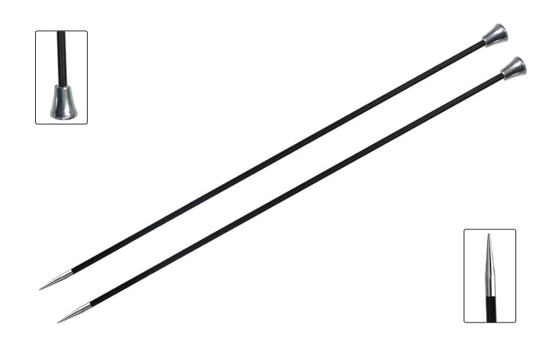 Спицы прямые Karbonez 6мм/35см, карбон, черный, 2шт в упаковке41292Karbonez. Спицы из карбона – это элегантность и поэзия в вязании. Спицы изготовлены из инновационного метала – углеволокно с никелем и латунным покрытием. Благодаря этому необычному симбиозу спицы очень прочные и при этом невесомые, пряжа идеально сколь