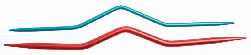 Спицы вспомогательные для кос 2,5мм, 4мм, алюминий, красный/синий, 2шт в упаковке45501Спицы вспомогательные для кос 2,5мм, 4мм, алюминий, красный/синий, 2шт в упаковке