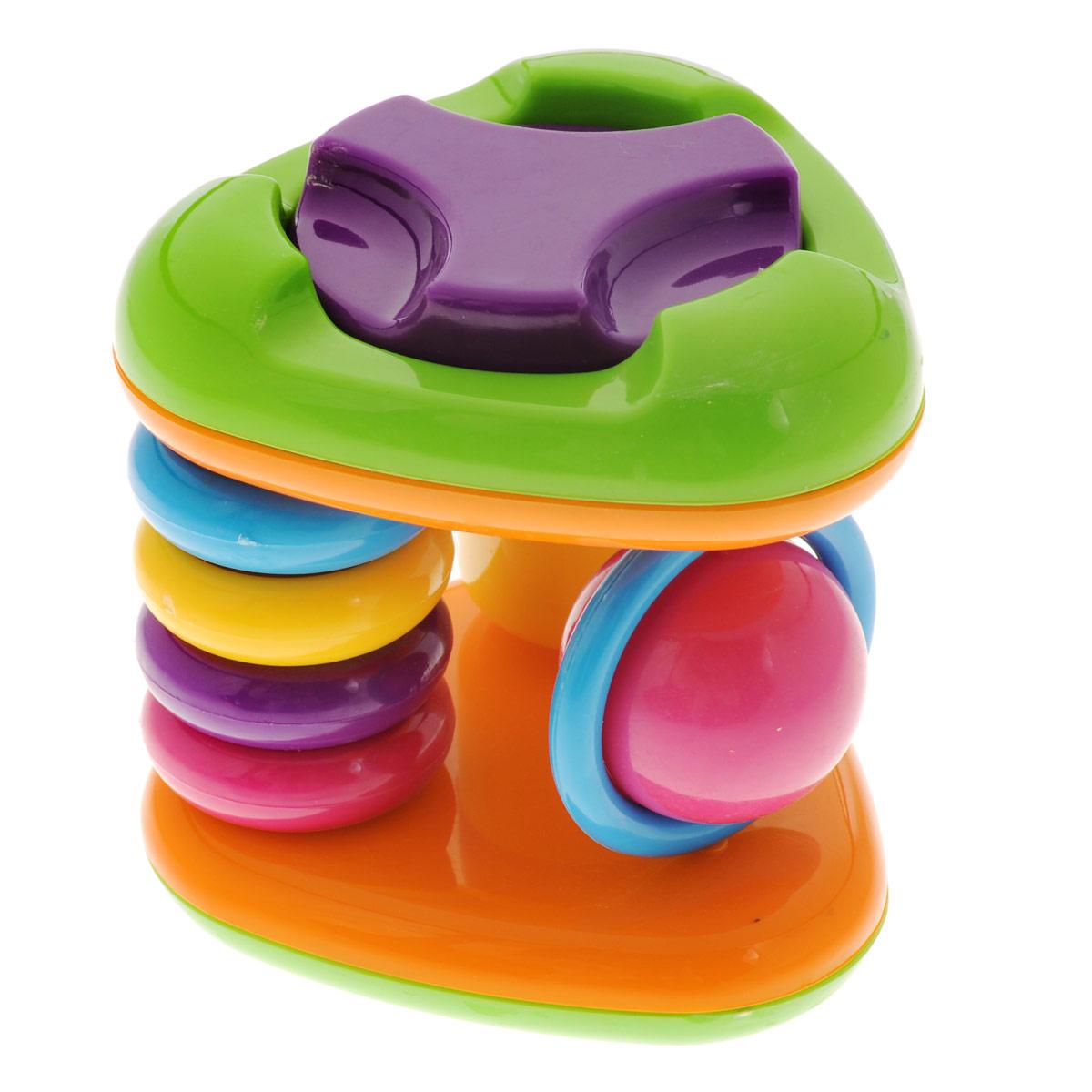 Погремушка Mioshi Смешные треугольникиTY9035Яркая, разноцветная, приятная на ощупь погремушка Mioshi Смешные треугольники станет любимой игрушкой вашей крохи. Игрушка поможет развить мелкую моторику, восприятие формы и цвета предметов, а также слух и зрение. Игрушки Mioshi созданы специально для малышей, которые только начинают познавать этот волшебный мир. Дети в раннем возрасте всегда очень любознательны, они тщательно исследуют всё, что попадает им в руки. Заботясь о здоровье и безопасности малышей, Mioshi выпускает только качественную продукцию, которая прошла сертификацию.