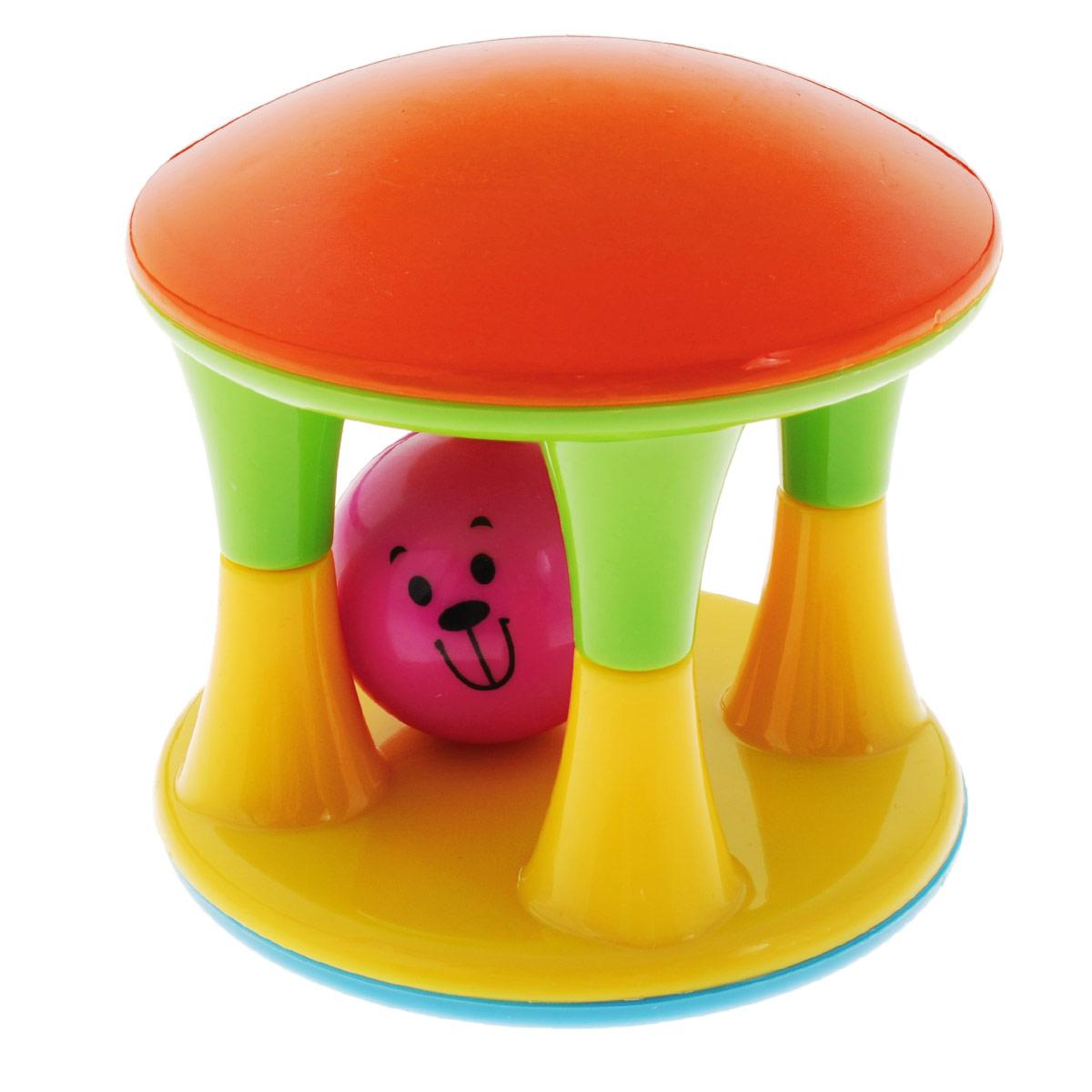 Погремушка-неваляшка Mioshi ЧашкаTY9031Яркая, разноцветная, приятная на ощупь погремушка-неваляшка Mioshi Чашка с веселым шариком станет любимой игрушкой Вашей крохи. Она развивает мелкую моторику, восприятие формы и цвета предметов, а также слух и зрение. Дети в раннем возрасте всегда очень любознательны, они тщательно исследуют всё, что попадает им в руки. Заботясь о здоровье и безопасности малышей, Mioshi выпускает только качественную продукцию, которая прошла сертификацию.