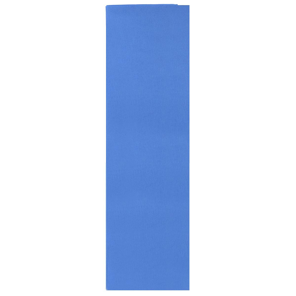 Бумага крепированная Проф-Пресс, цвет: синий, 50 см х 250 смБ-2298Крепированная бумага Проф-Пресс - отличный вариант для воплощения творческих идей не только детей, но и взрослых. Она отлично подойдет для упаковки хрупких изделий, при оформлении букетов, создании сложных цветовых композиций, для декорирования и других оформительских работ. Бумага обладает повышенной прочностью и жесткостью, хорошо растягивается, имеет жатую поверхность. Кроме того, крепированная бумага Проф-Пресс поможет увлечь ребенка, развивая интерес к художественному творчеству, эстетический вкус и восприятие, увеличивая желание делать подарки своими руками, воспитывая самостоятельность и аккуратность в работе. Такая бумага поможет вашему ребенку раскрыть свои таланты. Размер: 50 см х 250 см.