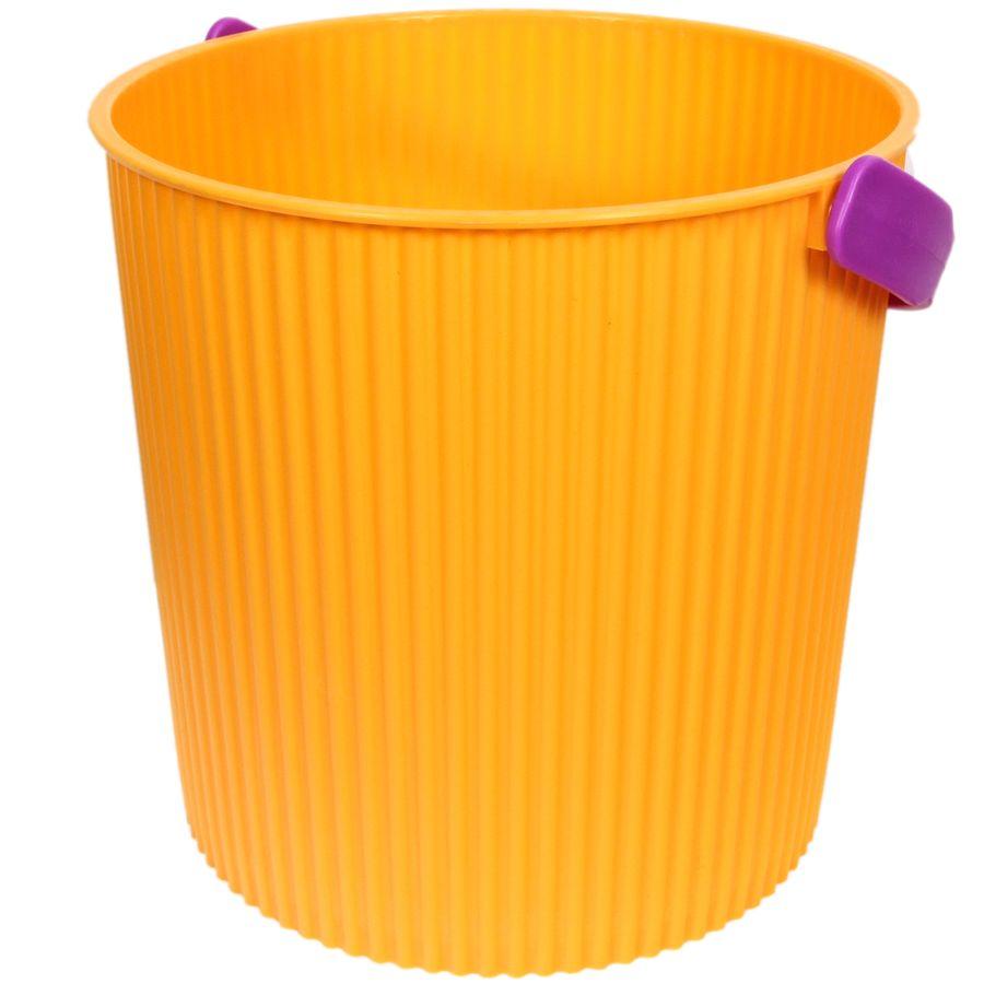 Ведро-стульчик желтое 10л BAMBINI103-желтоеРучки ведра в цветовом ассортименте.