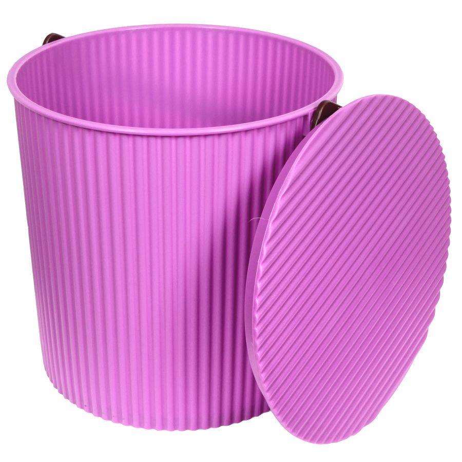 Ведро-стульчик фиолетовое 10л BAMBINI104-фиолетовоеУВАЖАЕМЫЕ КЛИЕНТЫ! Обращаем ваше внимание на то, что цвет ручки может меняться в зависимости от прихода товара на склад.