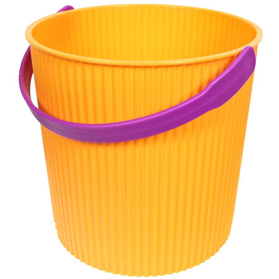 Ведро-стульчик желтое 20л GRANDE203-желтое