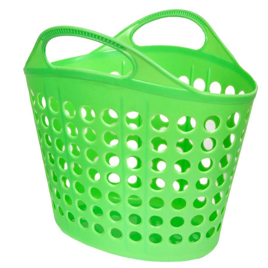 Корзина для белья Изумруд, цвет: зеленый, 10 кг411-зелнаяКорзина для белья Изумруд изготовлена из прочного пластика. Корзина устойчива к перепадам температур и влажности, поэтому идеально подходит для ванной комнаты. Изделие оснащено двумя ручками. Можно использовать для хранения белья, детских игрушек, домашней обуви и прочих бытовых вещей. Элегантный дизайн подойдет к интерьеру любой ванной. Размер изделия: 34 см х 36 см х 42 см.