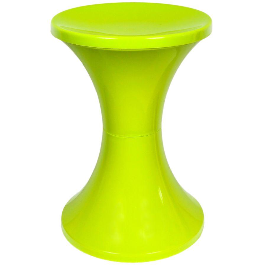 Стул Изумруд, пластиковый, цвет: лайм, 30 х 30 х 44 см401Стул Изумруд выполнен из высококачественного пластика, имеет прочное основания и эргономичное сиденье. Стул имеет сборную конструкцию. Сиденье стула снимается, под ним имеется пустое отверстие, куда можно убрать, к примеру, аксессуары для уборки кухни. К тому же в разборном виде стул удобно хранить и перевозить. Интересный дизайн впишется в любой интерьер дома, офиса, дачи и сделает его более оригинальным. Диаметр (по верхнему краю): 30 см. Высота: 44 см.