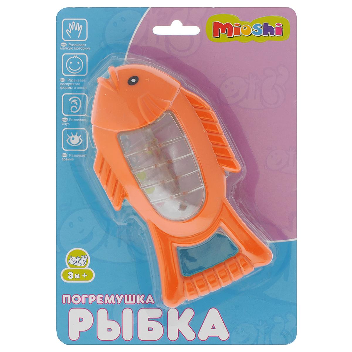 Развивающая игрушка-погремушка Mioshi