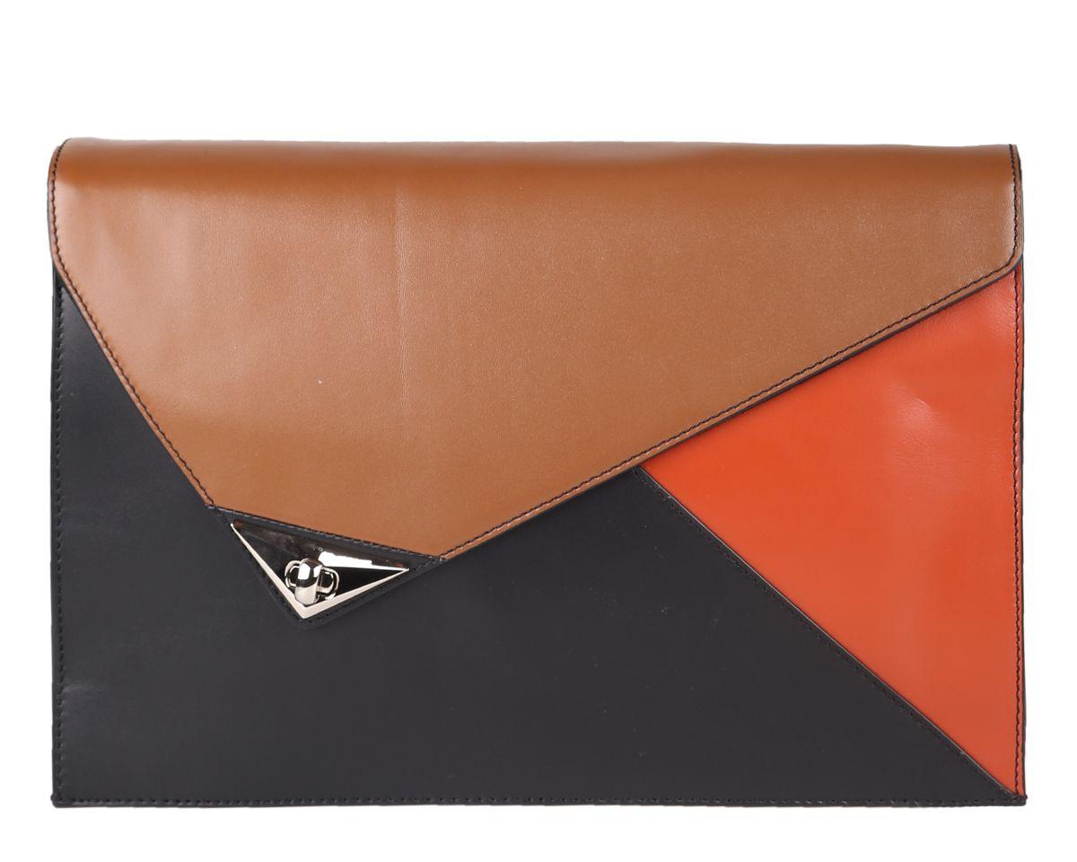 Сумка женская Leo Ventoni, цвет: черный, коричневый, рыжий. 2300397823003978-nero/marrone/orangeСтильная женская сумка Leo Ventoni выполнена из натуральной кожи, дополнена металлической фурнитурой. Изделие оформлено вставками из кожи разных оттенков. Сумка имеет одно отделение, которое закрывается на молнию. Внутри предусмотрен вшитый карман на молнии и два накладных кармана для телефона и мелочей. В задней стенке изделия расположен вшитый карман на молнии. Сумка оснащена практичным плечевым ремнем на застежках карабинах. Такая сумка прекрасно дополнит ваш образ и подчеркнет изысканный стиль.