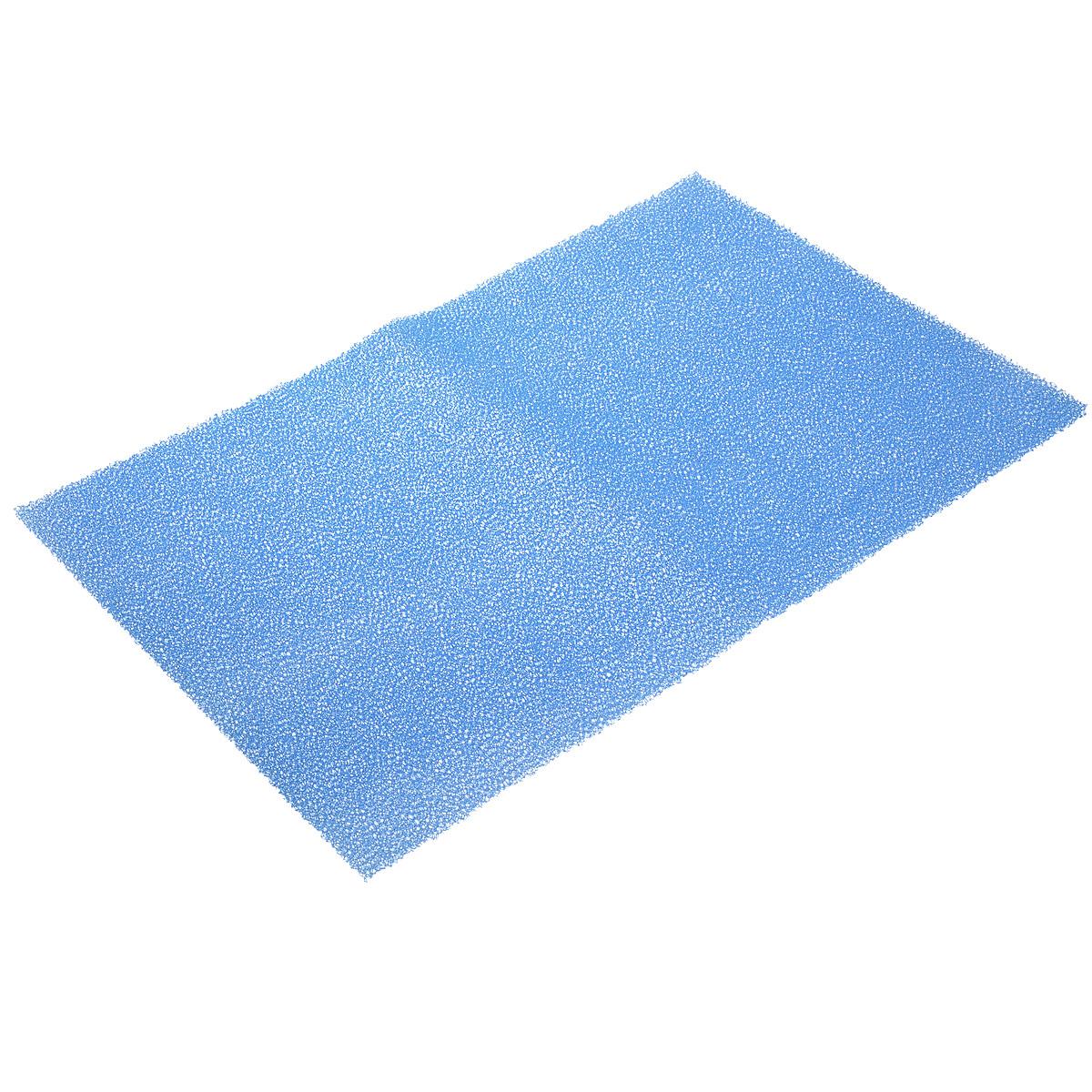 "Коврик для холодильника ""Magic Power"", антибактериальный, цвет: синий, 49 см х 32 см MP-612_синий"