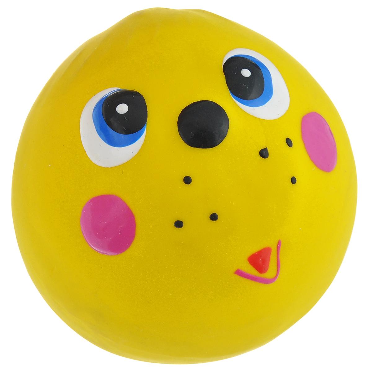 Игрушка для собак I.P.T.S. Мяч с мордочкой, цвет: желтый, диаметр 7 см620560_желтыйИгрушка для собак I.P.T.S. Мяч с мордочкой, изготовленная из высококачественного латекса, выполнена в виде мячика с милой мордочкой. Такая игрушка порадует вашего любимца, а вам доставит массу приятных эмоций, ведь наблюдать за игрой всегда интересно и приятно. Оставшись в одиночестве, ваша собака будет увлеченно играть. Диаметр: 7 см.