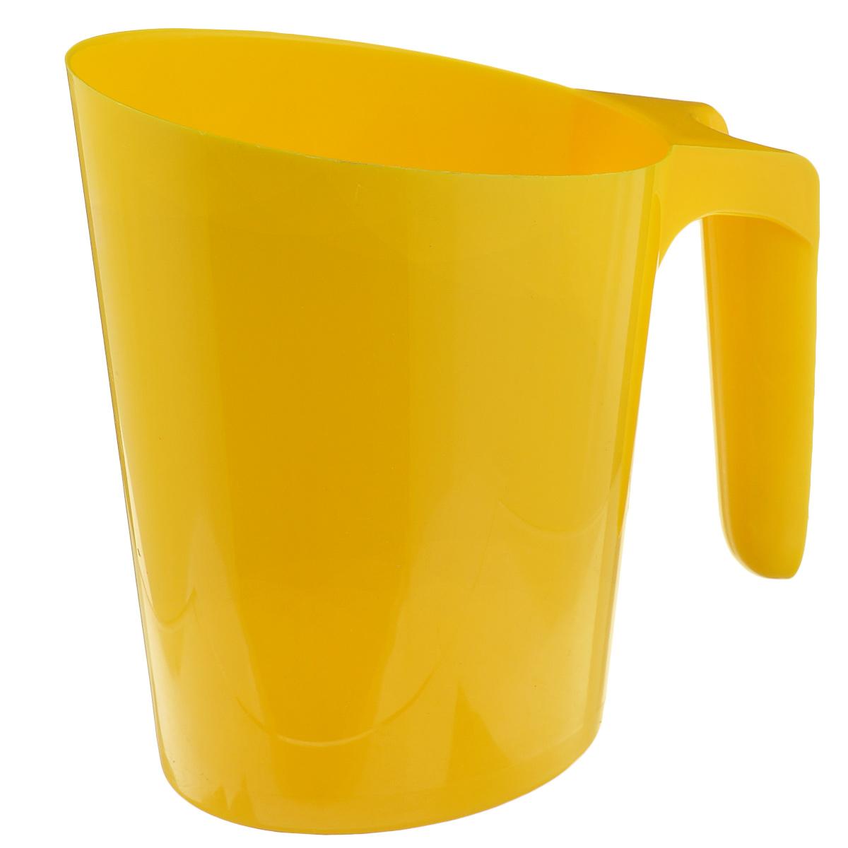 Кувшин для молочного пакета Idea, цвет: желтыйМ 1216Каждый сталкивался с проблемой неустойчивого молочного пакета. Громоздкие кастрюли занимают много места и неопрятно выглядят среди остальных продуктов. Кувшин Idea очень компактный, он позволит спокойно разместить остатки молока на полках или дверце холодильника. Кувшин надежен и устойчив, большое дно и широкая удобная ручка предотвратят опрокидывание. Вы так же сможете использовать его под компот, морс или сок. Кувшин Idea будет вашим надежным помощником в любой ситуации! Размер по верхнему краю: 13,5 см х 9 см. Высота: 17 см.