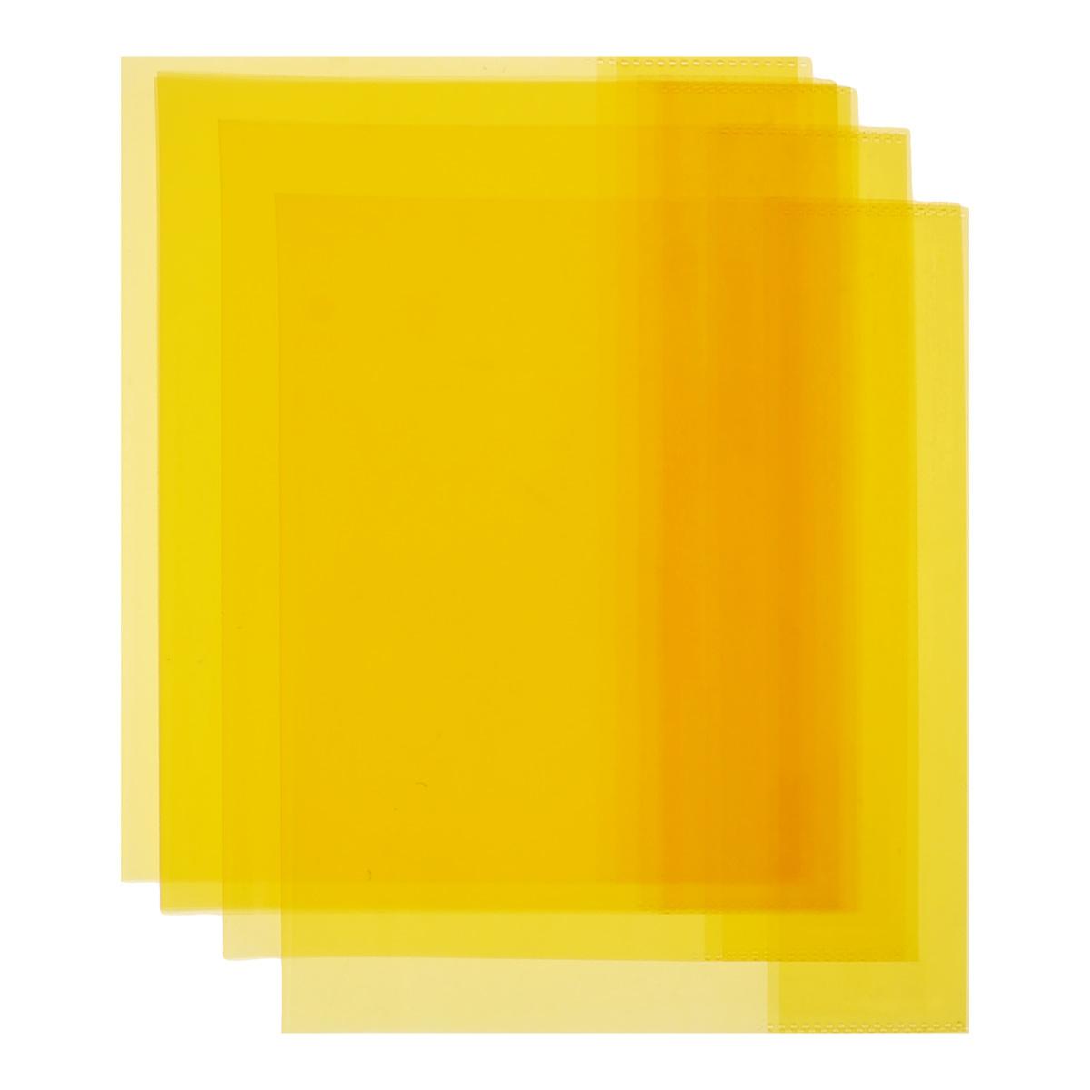 Обложка для тетрадей и дневников Action, цвет: оранжевый, 21 см х 34,6 см, 5 штABC010/5_оранжевыйОбложка для тетрадей и дневников Action выполнена из высококачественного полупрозрачного пластика толщиной 100 мкм и предназначена для защиты тетрадей и дневников от пыли, грязи и механических повреждений. Надежная фиксация обложки обеспечивается прозрачными клапанами на внутренней стороне. Обложка для тетрадей и дневников - незаменимый атрибут школьника, студента или офисного работника. Она надежно сбережет ваши документы и защитит их от повреждения, пыли и влаги