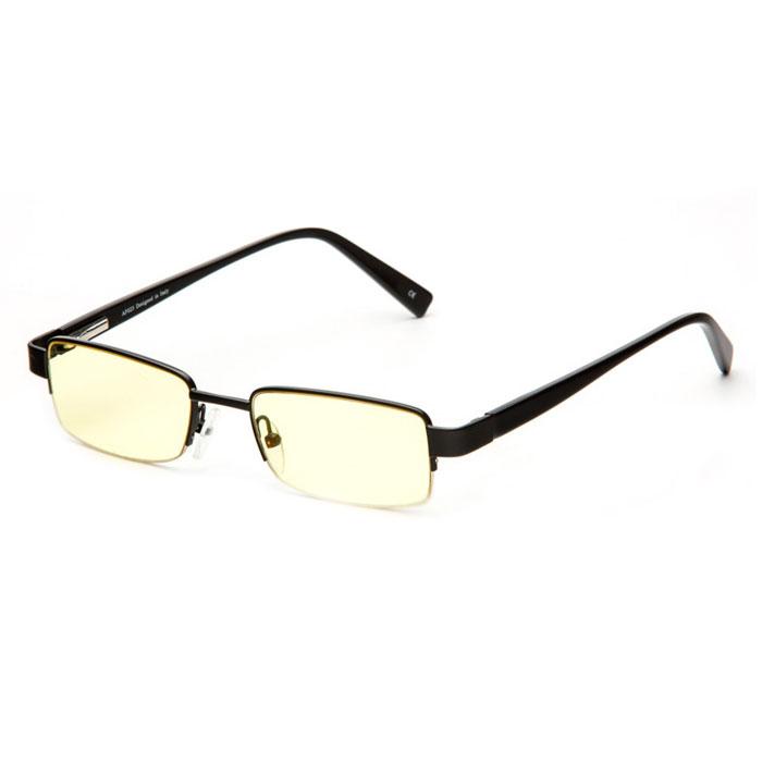 SP Glasses AF023 Premium, Black компьютерные очкиAF023_BОчки SP Glasses AF023 Premium разработаны под наблюдением и при консультации академика С. Н. Федорова. Конструкция оправы в сочетании с экологически чистыми, воздействующими на зрение благотворно линзами значительно облегчает работу за монитором. При постоянном ношении оптических очков глаза устают, а ношение SP Glasses AF023 Premium дает возможность отдохнуть глазам снять напряжение с сосудов глазного яблока. SP Glasses AF023 Premium выпускаются в классической оправе. Долговечные не поддающиеся мелким царапинам линзы выполнены из желтого пластика. Желтый цвет фильтрует негативное воздействие УФ-лучей и лучей голубого спектра. Таким образом, ваши глаза защищены от преждевременной потери зрения, работоспособность за компьютером увеличена в разы.