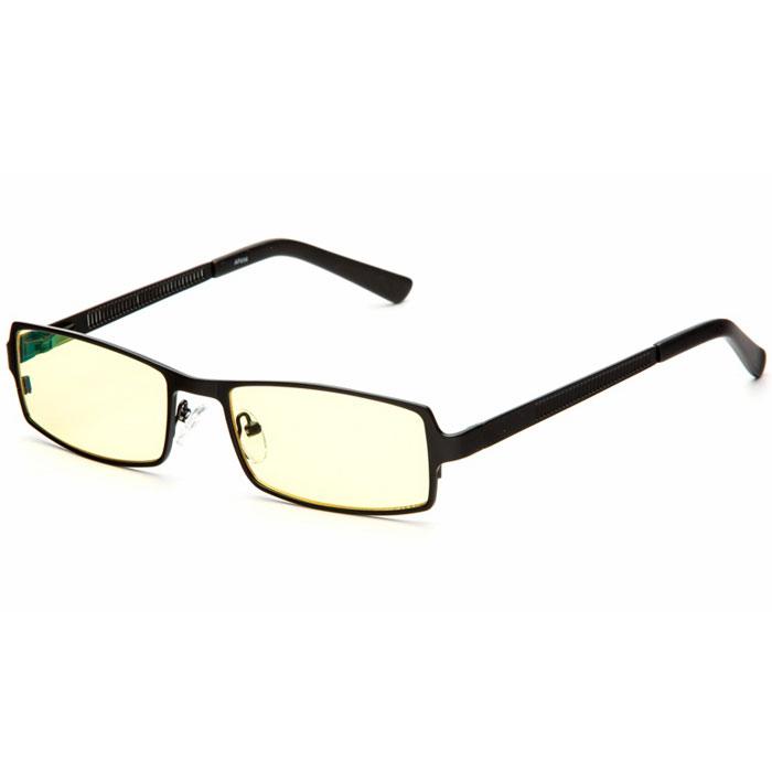 SP Glasses AF034 Luxury, Black компьютерные очкиAF034_BSP Glasses AF034 Luxury - компьютерные очки с желтыми линзами, которые предназначены для защиты глаз от вредного излучения мониторов, ноутбуков, игровых приставок, электронных книг, телевизоров. Их линзы изготовлены из качественного прочного пластика и оснащены специальными светофильтрами, позволяющими не перенапрягать глаза при длительной работе за компьютером и с другими подобными устройствами с дисплеями и мониторами. Очки эффективно уменьшают слезоточивость и резь в глазах, снижают утомляемость. Также их можно использовать для защиты глаз от света люминесцентных ламп, при работе с мелкими деталями и движущимися элементами. Наносники: регулируемые Геометрия: прямоугольная