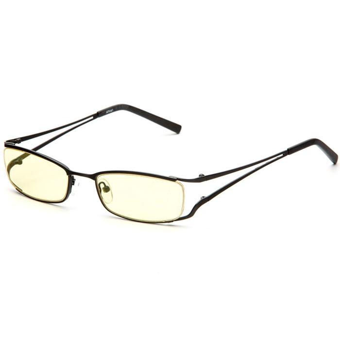 SP Glasses AF041 Luxury, Black компьютерные очкиAF041_BОчки SP Glasses AF041 Luxury разработаны под наблюдением и при консультации академика С. Н. Федорова. Конструкция оправы в сочетании с экологически чистыми, воздействующими на зрение благотворно линзами значительно облегчает работу за монитором. При постоянном ношении оптических очков глаза устают, а ношение SP Glasses AF041 Luxury дает возможность отдохнуть глазам снять напряжение с сосудов глазного яблока. SP Glasses AF041 Luxury выпускаются в необычной современной оправе. Долговечные не поддающиеся мелким царапинам линзы выполнены из желтого пластика. Желтый цвет фильтрует негативное воздействие УФ-лучей и лучей голубого спектра. Таким образом, ваши глаза защищены от преждевременной потери зрения, работоспособность за компьютером увеличена в разы.