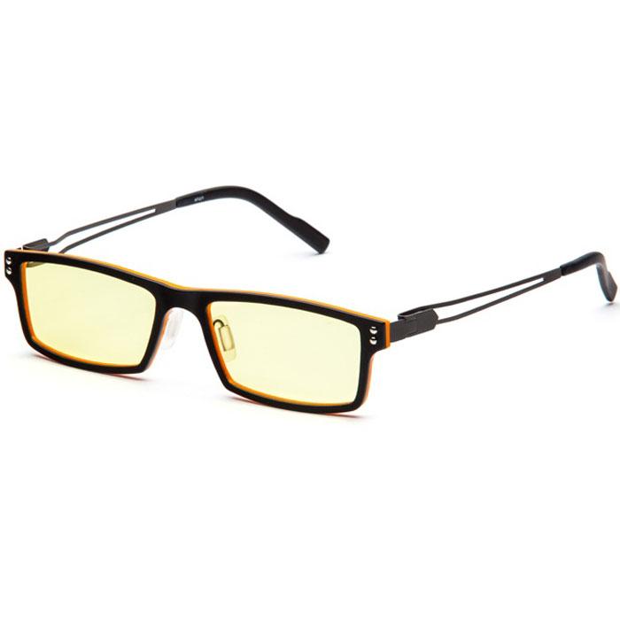 SP Glasses AF071 Titanium , Black Orange компьютерные очкиAF071_BOSP Glasses AF071 Titanium - компьютерные очки с желтыми линзами, которые предназначены для защиты глаз от вредного излучения мониторов, ноутбуков, игровых приставок, электронных книг, телевизоров. Их линзы изготовлены из качественного прочного пластика и оснащены специальными светофильтрами, позволяющими не перенапрягать глаза при длительной работе за компьютером и с другими подобными устройствами с дисплеями и мониторами. Очки эффективно уменьшают слезоточивость и резь в глазах, снижают утомляемость. Также их можно использовать для защиты глаз от света люминесцентных ламп, при работе с мелкими деталями и движущимися элементами. Наносники: регулируемые Геометрия: прямоугольная