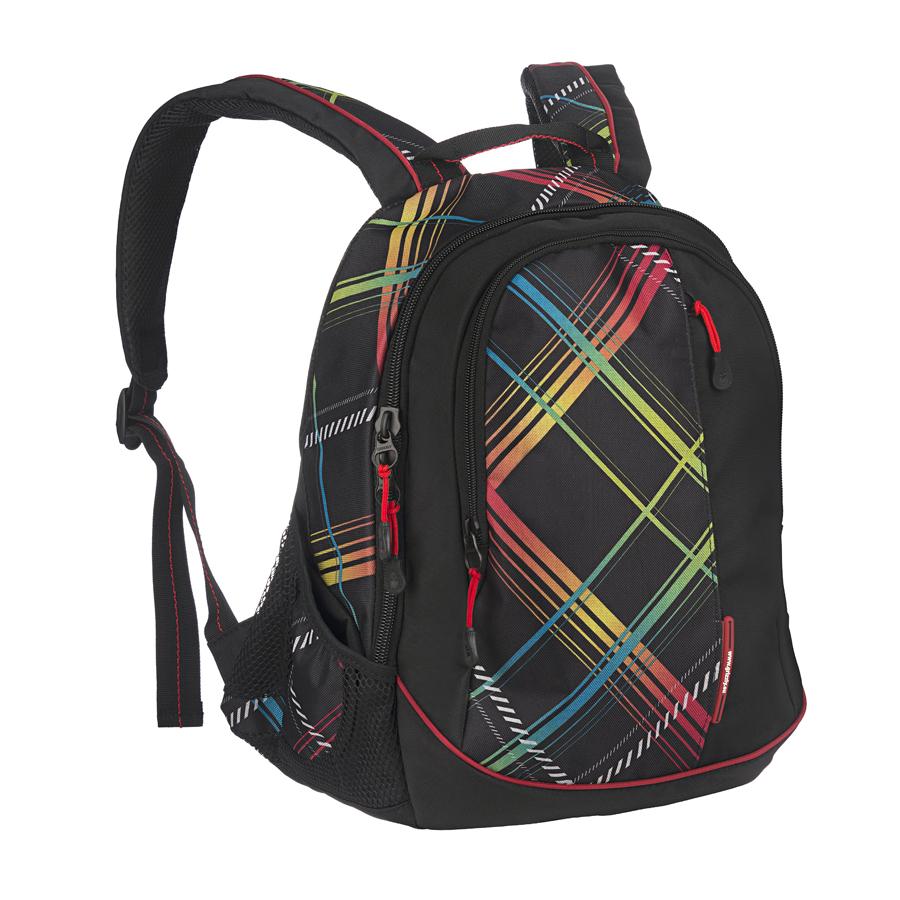 Рюкзак городской Grizzly, цвет: черный, красный, желтый, 24 л. RU-401-1/4RU-401-1/4Рюкзак Grizzly - это удобный и практичный рюкзак со множеством отделений и карманами, изготовленный из высококачественного полиэстера. Рюкзак имеет одно главное и одно дополнительное отделение, которые закрываются на застежку-молнию. Внутри дополнительного отделения - четыре небольших кармашка для письменных принадлежностей. По бокам рюкзака - два кармана на резинке с сетчатыми вставками. На передней панели - скрытый карман на застежке-молнии. Модель имеет укрепленную спинку с мягкими рельефными вставками и анатомическими лямками, а также ручку для переноски. Такой рюкзак - практичное и стильное приобретение на каждый день.