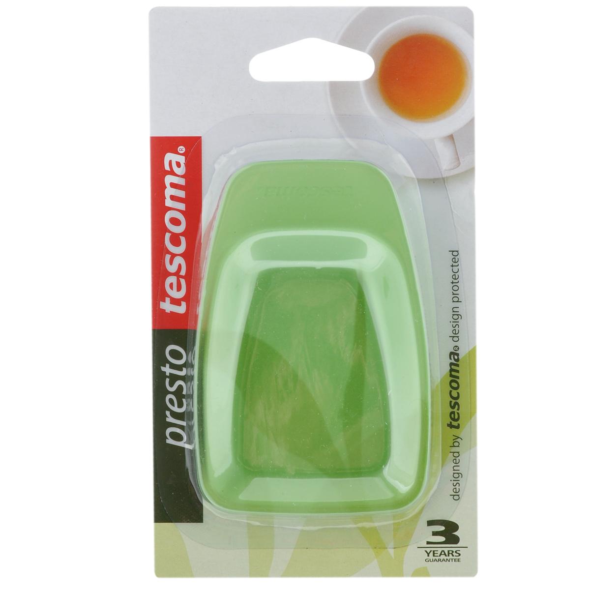 Поднос для чайных пакетов Tescoma Presto, цвет: зеленый, 2 шт420681-зеленыйПоднос Tescoma Presto используется как подставка для использованных чайных пакетиков. Выполнен из первоклассной прочной пластмассы. Можно мыть в посудомоечной машине.