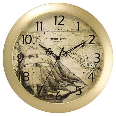 Часы настенные Troyka, цвет: бежевый. 1117117911171179Настенные кварцевые часы Troyka в винтажном стиле, изготовленные из пластика, прекрасно подойдут под интерьер вашего дома. Круглые часы имеют три стрелки: часовую, минутную и секундную, циферблат защищен прозрачным пластиком. Диаметр часов: 29 см. Часы работают от 1 батарейки типа АА напряжением 1,5 В. Внимание! Часы укомплектованы бесплатным тестовым элементом питания для обеспечения их работоспособности при предпродажной подготовке и демонстрации рабочих функций.
