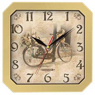 Часы настенные Troyka, цвет: бежевый. 3137131031371310Настенные кварцевые часы Troyka в винтажном стиле, изготовленные из пластика, прекрасно подойдут под интерьер вашего дома. Квадратные часы имеют три стрелки: часовую, минутную и секундную, циферблат защищен прозрачным пластиком. Размер часов: 29 см х 29 см х 3,5 см. Часы работают от 1 батарейки типа АА напряжением 1,5 В. Внимание! Часы укомплектованы бесплатным тестовым элементом питания для обеспечения их работоспособности при предпродажной подготовке и демонстрации рабочих функций.