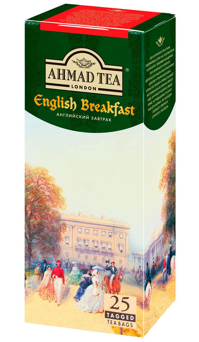 Ahmad Tea English Breakfast черный чай в пакетиках, 25 шт