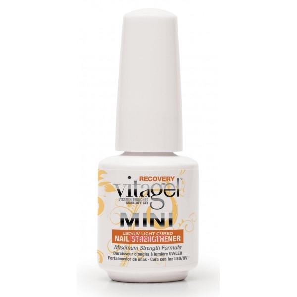 VitaGel Recovery Средство для восстановления тонких ногтей, 9 мл04030Скорая помощь для тонких или поврежденных ногтей, расслаивающихся или особенно пострадавших после носки и удаления искусственных покрытий, таких как гель, акрил или даже зачастую гель-лак. Революционная усиливающая формула VitaGel ВОССТАНОВЛЕНИЕ поможет там, где другие препараты бессильны.
