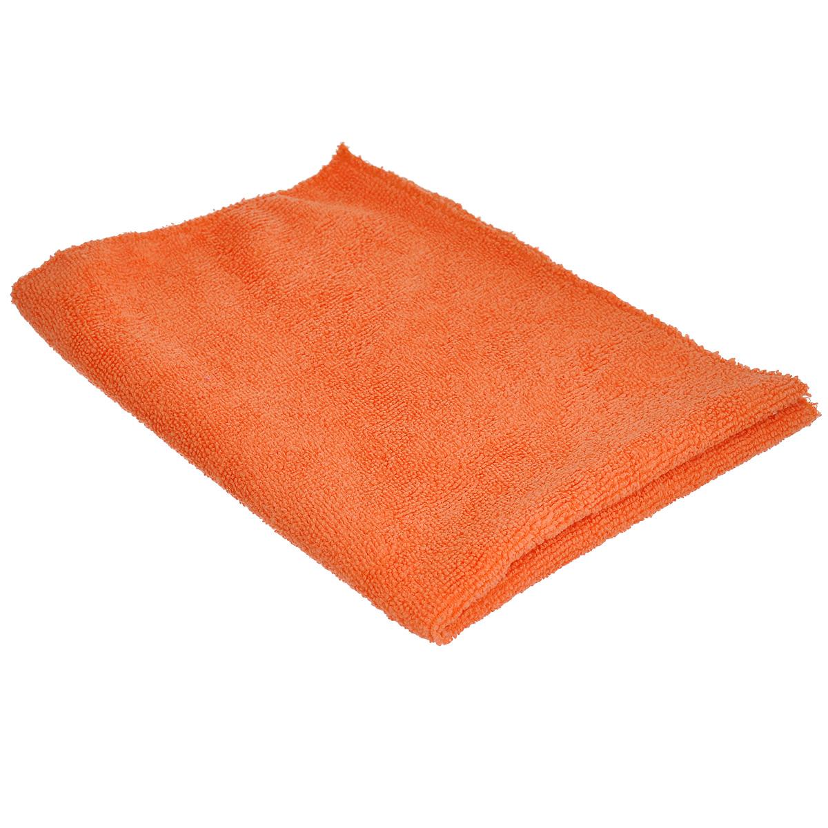Тряпка Eva для пола, цвет: оранжевый, 50 см х 40 смЕ7311_оранжевыйТряпка для пола Eva изготовлена из микрофибры. Она идеально подходит для уборки: хорошо впитывает влагу, легко удаляет загрязнения без моющих средств, вытирает насухо, не оставляя разводов и ворсинок на поверхности. Размер: 50 см х 40 см.