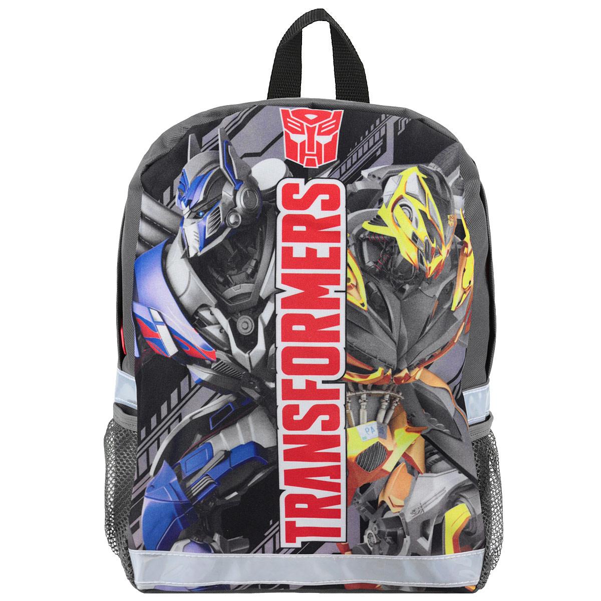 """Рюкзак детский """"Transformers Prime"""", цвет: серый, черный. TRCB-UT4-566"""