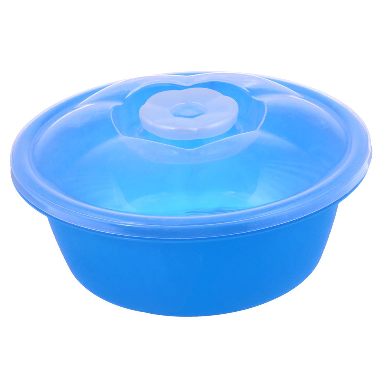 Миска Dunya Plastik, с крышкой, цвет: голубой, прозрачный, 1,7 л-10422-_голубаяМиска Dunya Plastik, изготовленная из пластика, имеет круглую форму. Изделие оснащено плотно закрывающейся крышкой. Такая миска прекрасно подойдет для хранения различных бытовых предметов, пищевых продуктов. Объем: 1,7 л